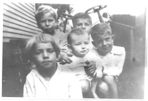 Grandsons of Simeon and Sarah Rountrey