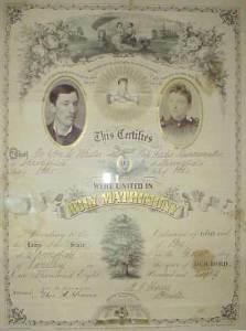 Wedding-Certificate