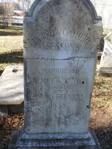Lucinda Catherine Sessums Rountree Keenan marker