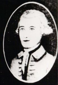 Stephen Moore in uniform miniature